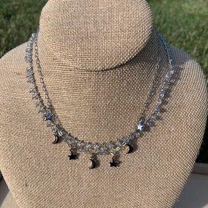 Chloe + Isabel Starry Night Choker Necklace Set